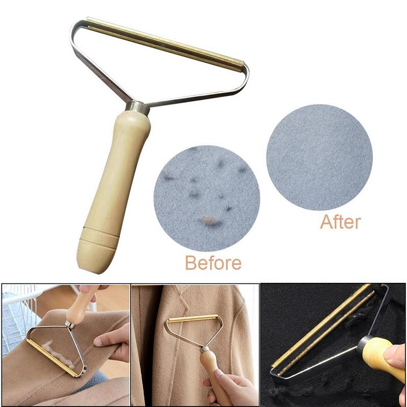 150pcs/lot Portable Lint Remover Clothes Fuzz Fabric Shaver Brush Tool Power-Free Fluff Removing Roller for Sweater Woven Coat