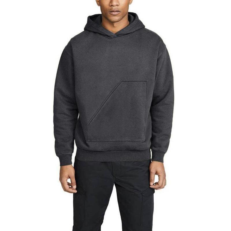 Sweats à capuche pour hommes Sweatshirts Sweatershirt Grande poche Simple Capuche à capuche Tops à manches longues Blouse Homme Sweat à capuche Traksuit Pull