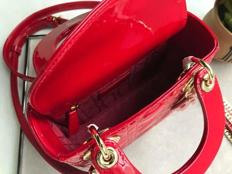 Mujeres bolsas de hombro Totes señoras de Crossbody del bolso de compras de cuero Bolsas de Patentes con rómbico enrejado de envío