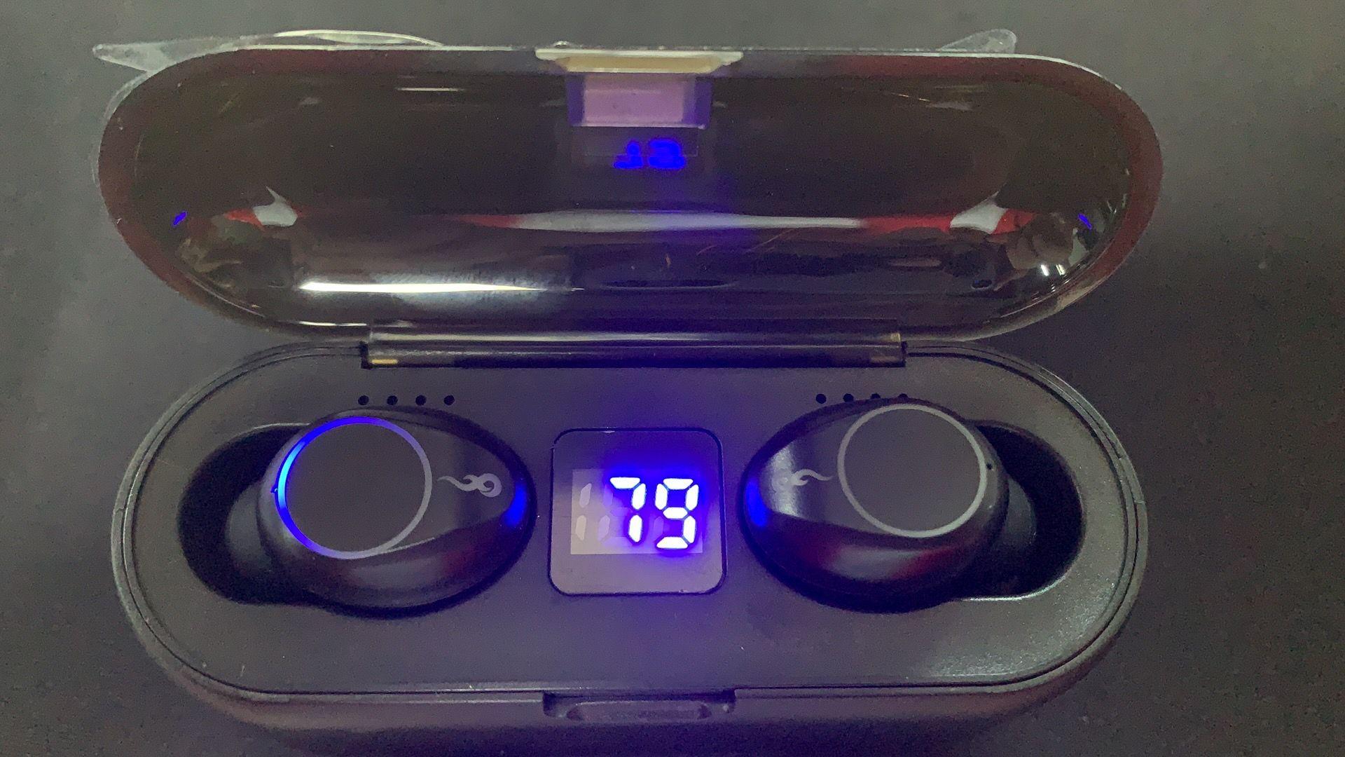 Heißer Verkauf Mini Headset Tws Wireless Bluetooth 5.0 Berührungssteuerung mit Smart Sensor F9-Kopfhörer