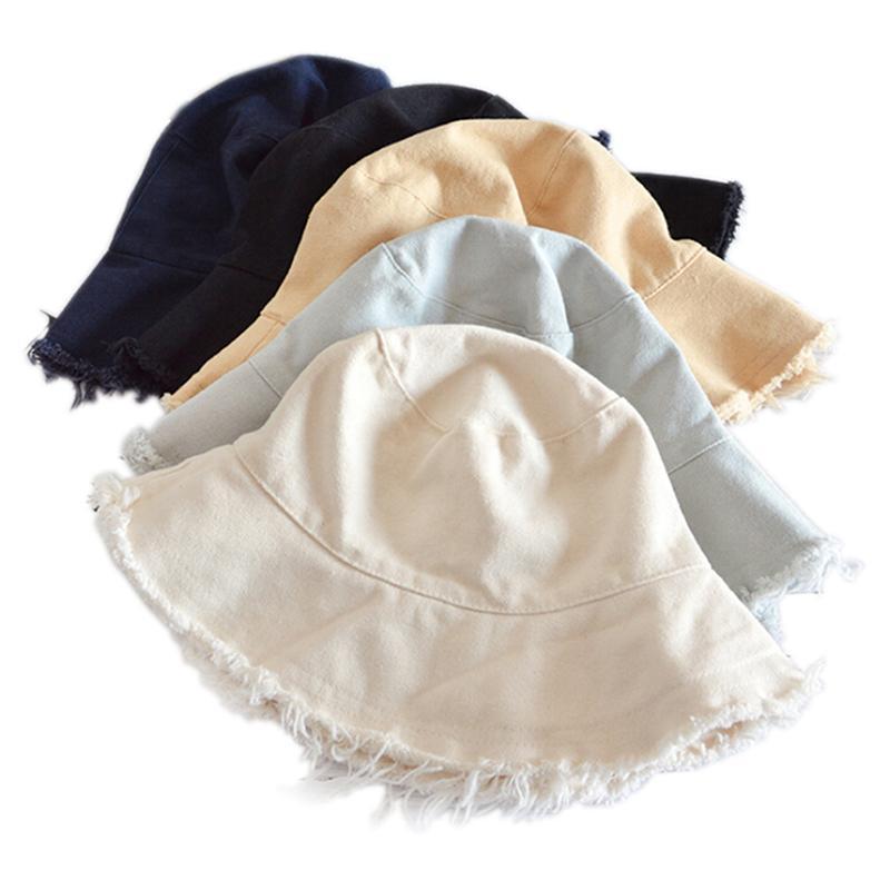 أنثى الأزيز دلو القبعات المتناثرة دلو قبعة الصيد في الهواء الطلق بنما الهيب هوب كاب الرجال الصيف لالصياد قبعة المرأة