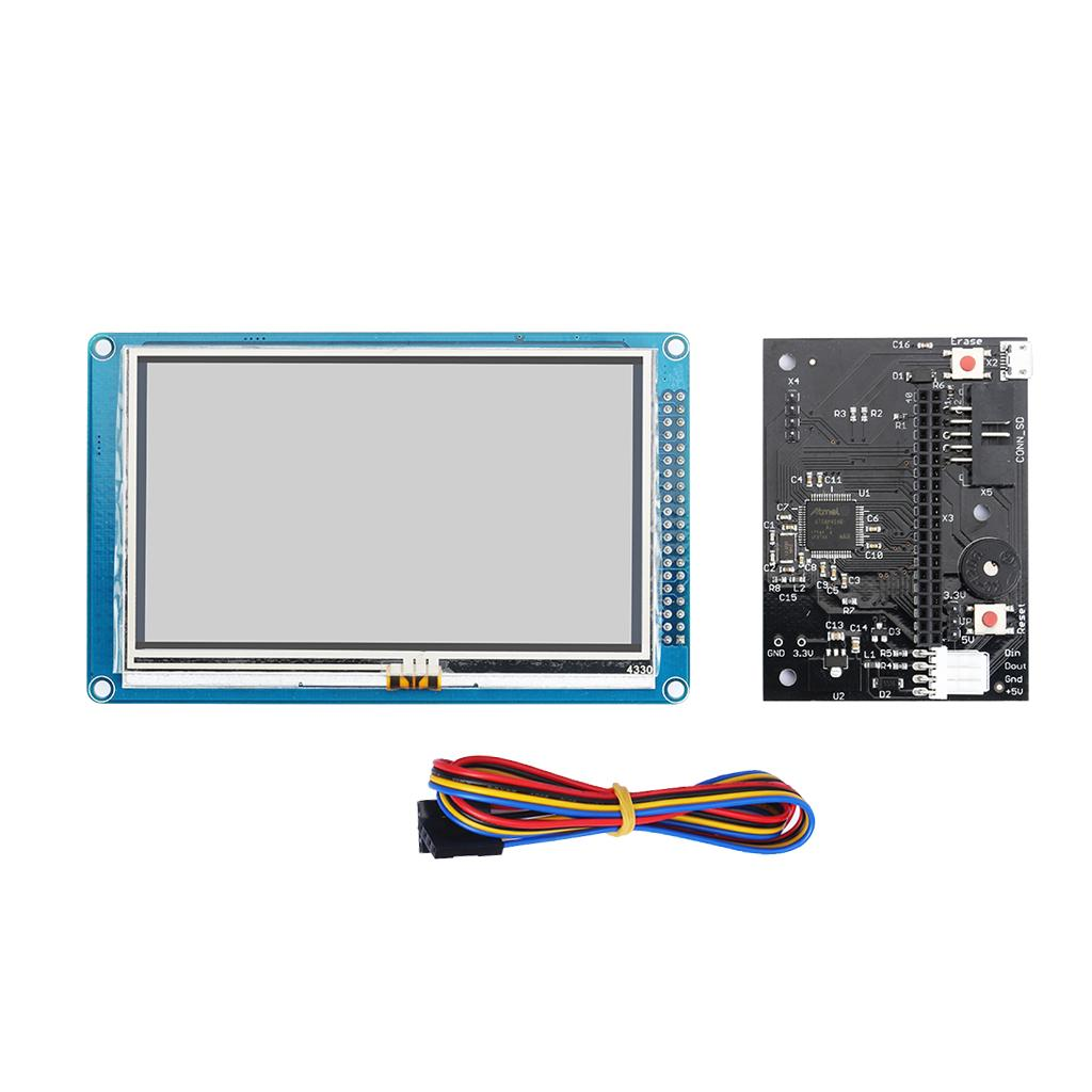 "Full Colour Touch Screen 4.3\"" & PanelDue Controller for 3D CNC Machine Printer"