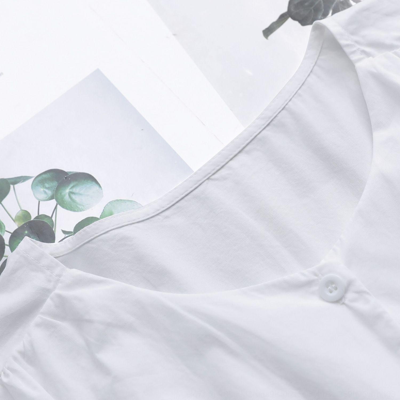 010851 Automne nouveau style coréen robe Xiaoqing nouveau style col rond simple boutonnage lacets mode robe femmes minceur taille 5QRsj