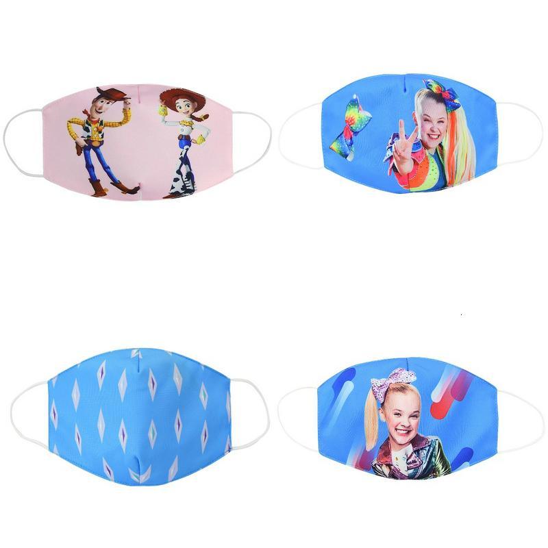 Niños paño de cara la boca de algodón máscara máscaras de dibujos animados, niños, jóvenes para Kid Bomull cubrebocas Ldptt Jjxhin stock363