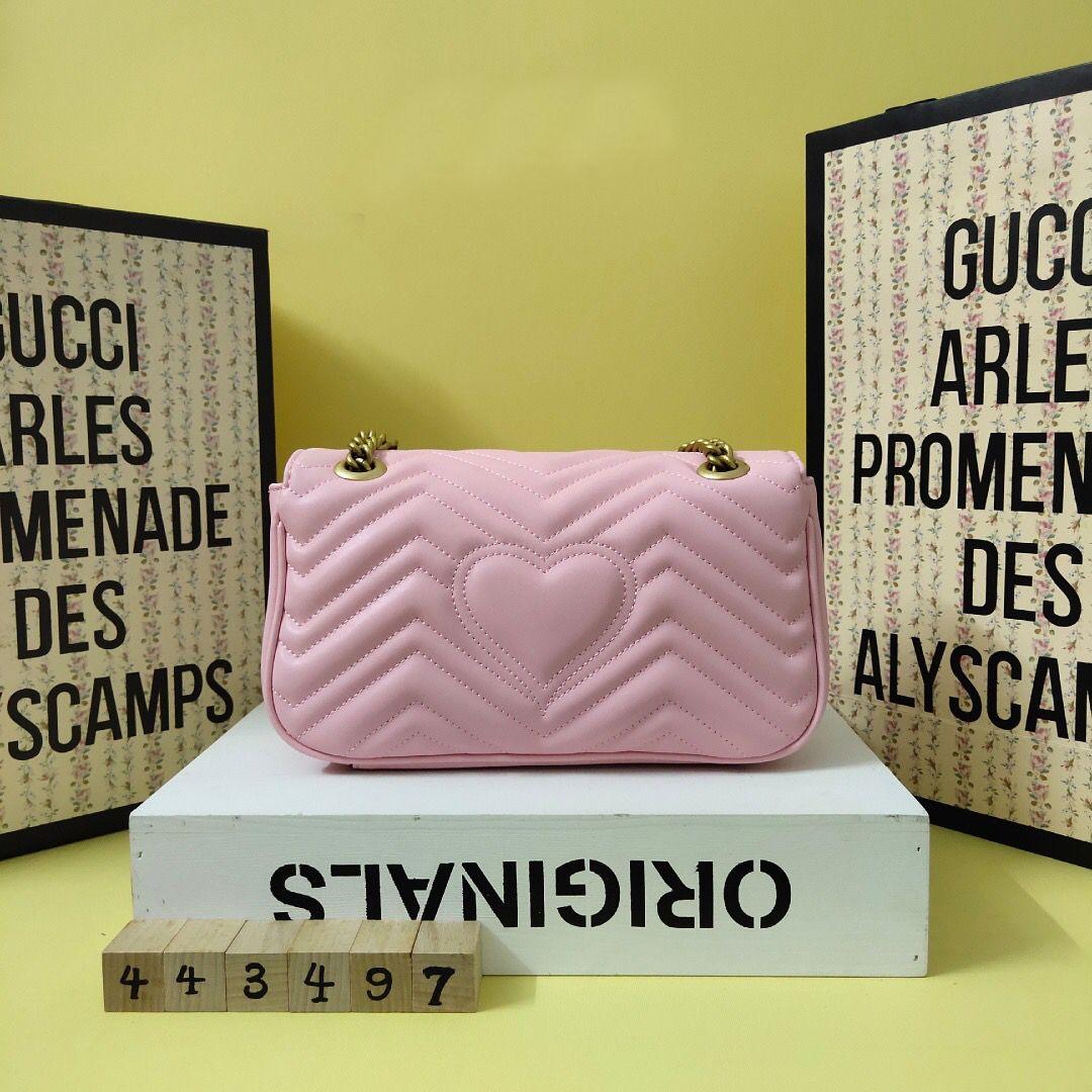 Style authentique luxurys de haute qualité designeurs de haute qualité sacs à main Marmont sac Mini marque classique sacs à main en cuir sacs à bandoulière Vika