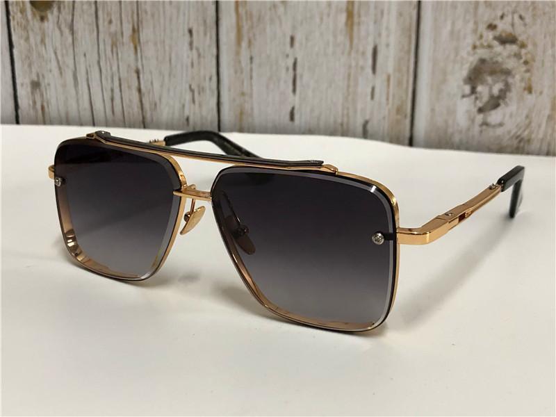 2020 nuovi superiori mens qualità degli occhiali da sole degli uomini degli occhiali da sole sei occhiali da sole donne Occhiali Occhiali da sole lente di protezione con box Consegna gratuita
