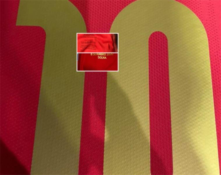 подготовить выпуск новых золотой шрифта Joao Феликс / Невиш / trincao, любое имя / номер; датированный печать 5 Setembro 2020