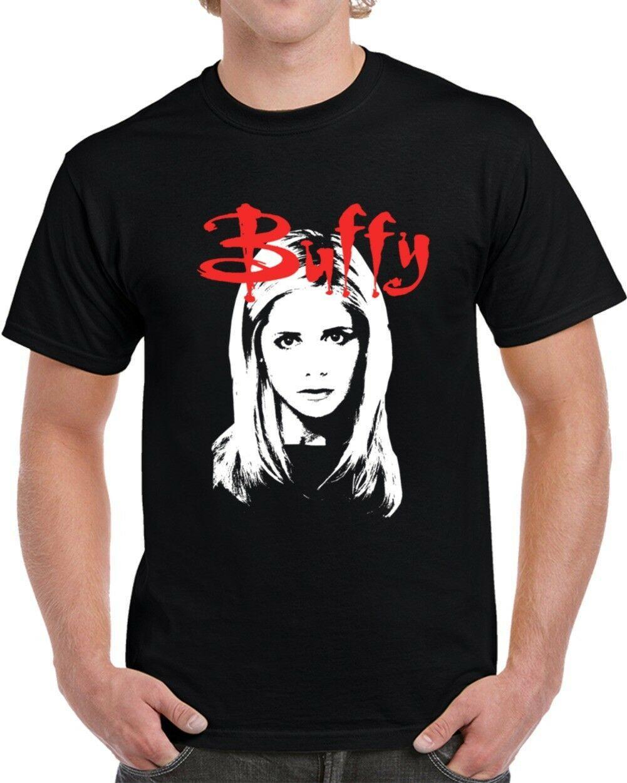 Buffy The Vampire Slayer Retro Fan Tv fresco T Shirt Top Harajuku camisa de manga curta