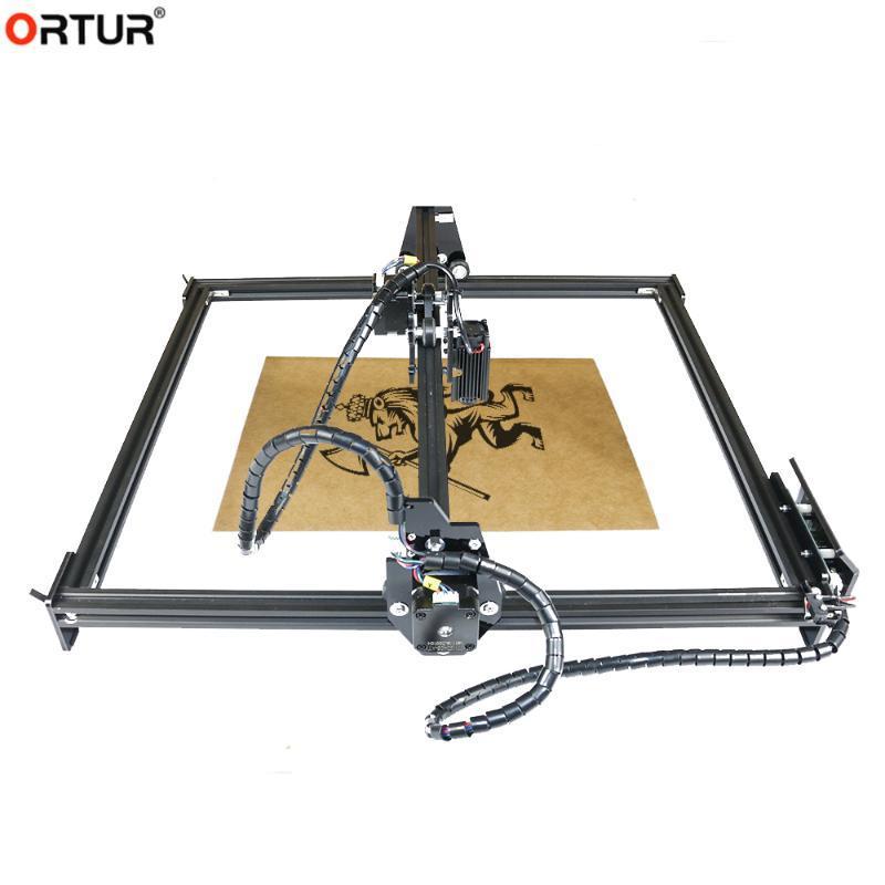 Принтеры Mini Лазерный гравировальный станок ЧПУ DIY Hobby Режущие инструменты GRBL для древесины PCB PVC Маршрутизатор Высокоскоростной Ortur Master 2