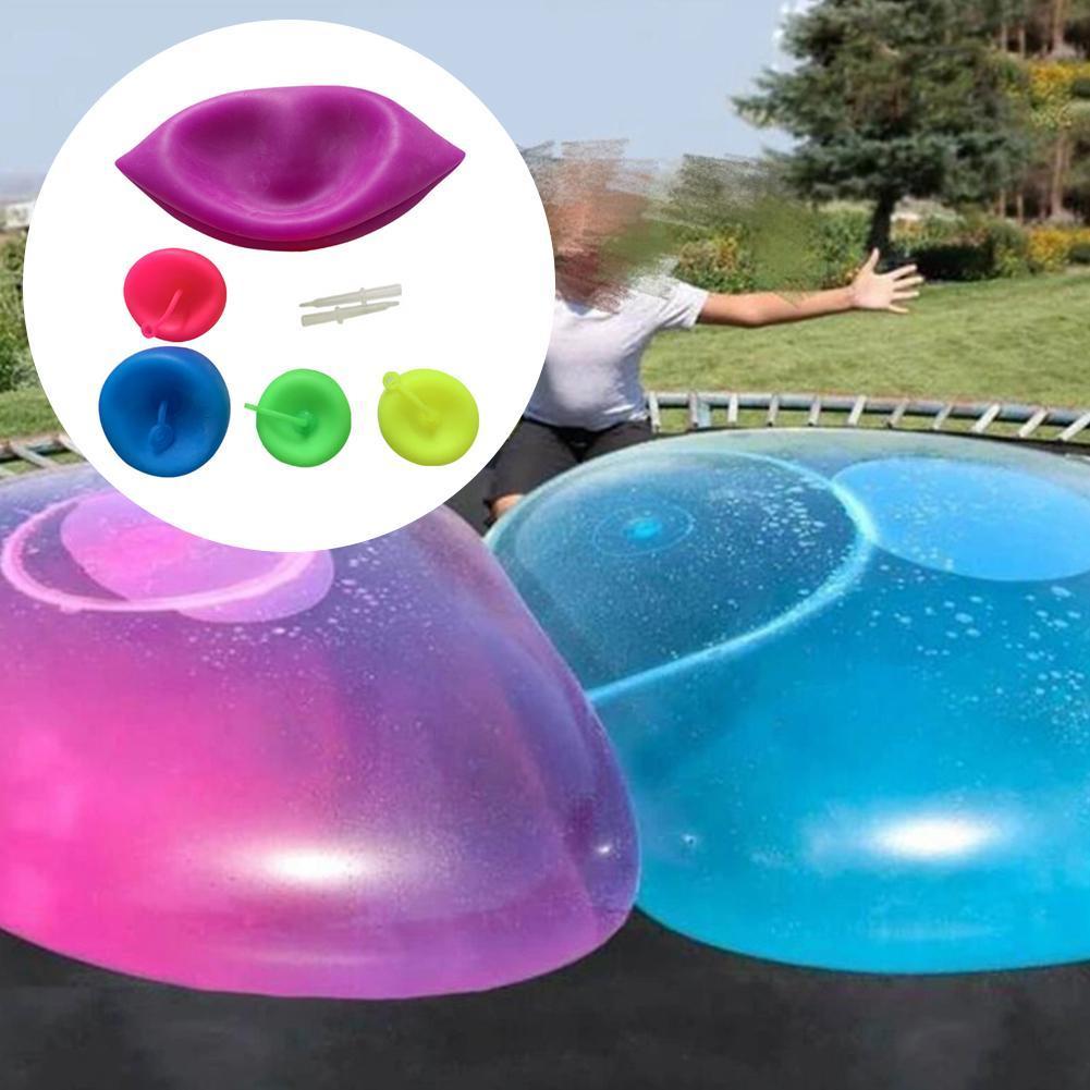 풍선 버블 볼 장난감 어린이 야외 활동을위한 투명 풍선 TPR 불어 풍선 수영장 액세서리