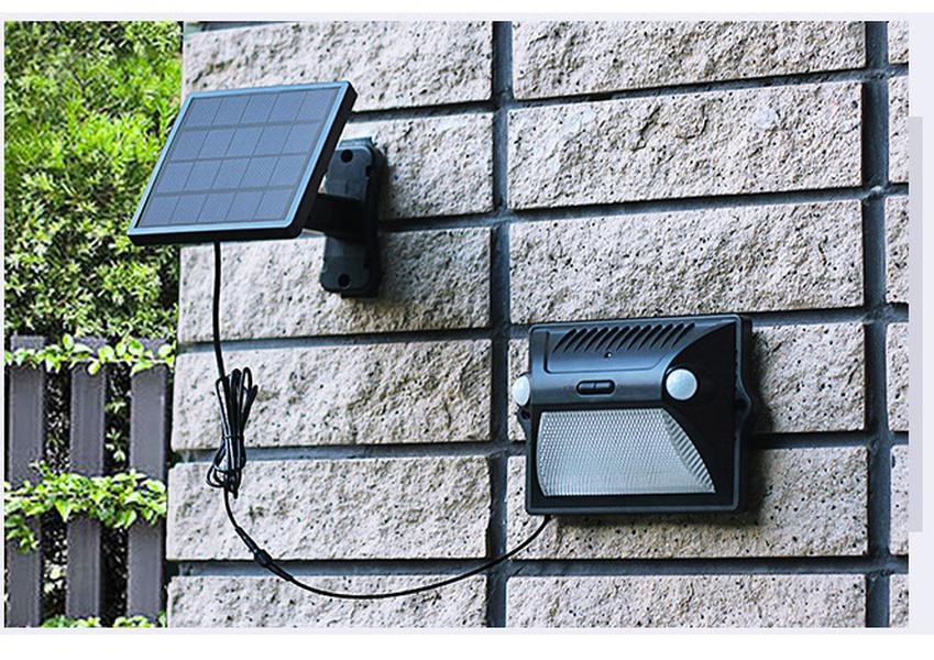 12 Ledler Güneş Işıklar Açık Pir Hareket Sensörü Ayrılabilir Işık İçin Bahçe Güvenlik Suya Kablosuz Duvar Lambası Aktif