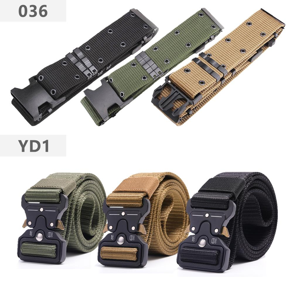 ROEGADYN Erwachsener / Universal Marine Corps Herren Trainingsgürtel Tactical Gürtel Militär Mylon Im Freien Lässige Adjustable Militärgürtel
