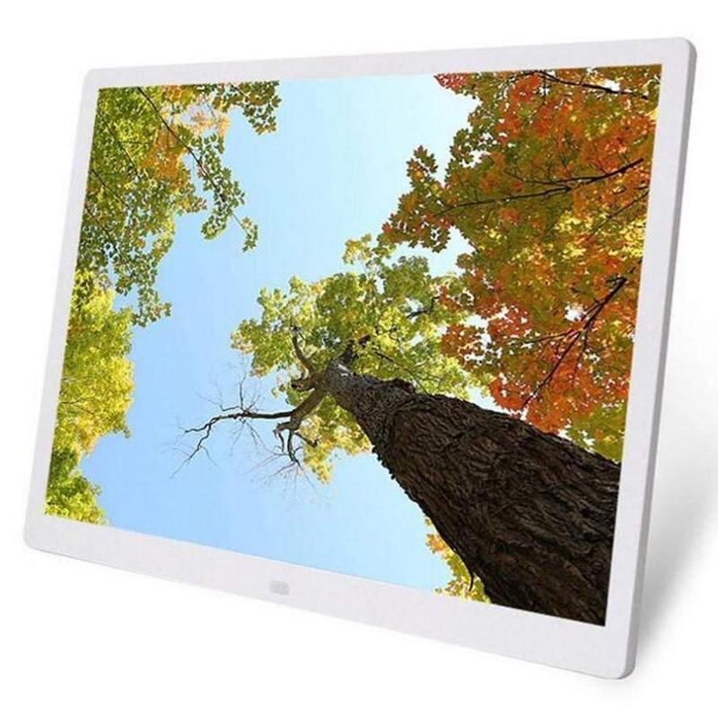 15 0,4-дюймовый HD Digital Photo Frame Alarm Mp3 Mp4 Movie Player Фото фоторамки Цифровые фото рамки T200320