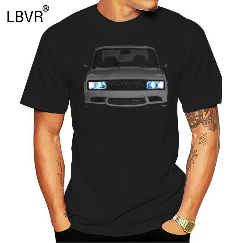 Lada Vaz 2105 Tişört Ayarlama% 100 Cottonnew T Shirt Unisex Komik Erkekler için Tee Temel Modelleri En T Shirts