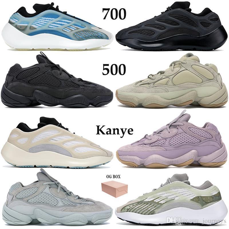 New Kanye 700 500 Running Shoes Men