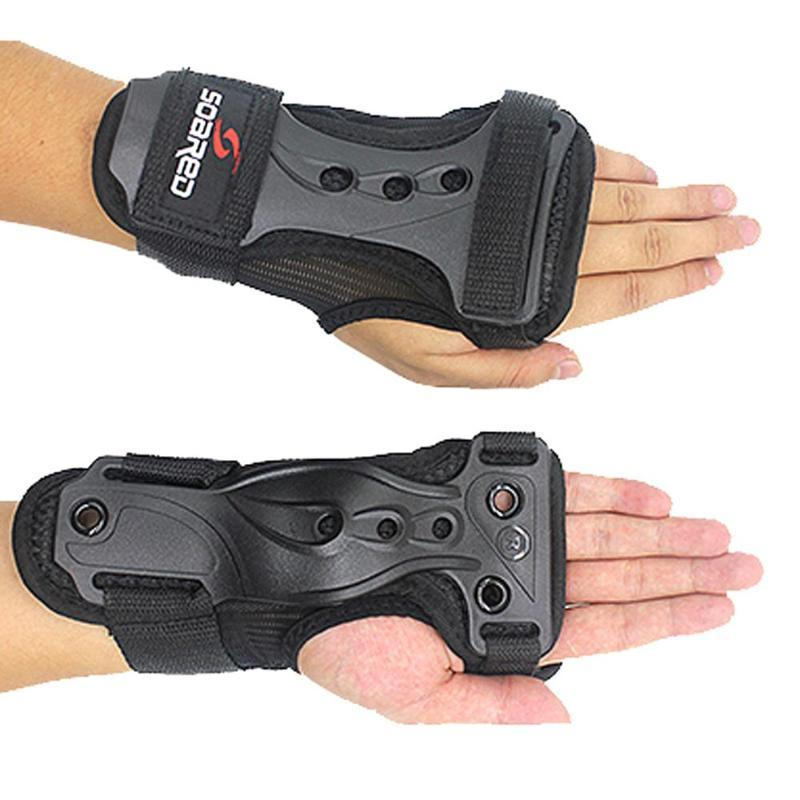 Kids Adults Roller Snowboard Ski Wrist Guards Hand Support Brace Gloves Protective Gear Sports Safety Protector 2020