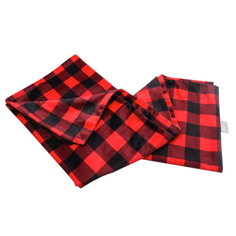 Red and Black Plaid Swaddle Blanket Decor Brown Fur Baby Newborn Blanket Used for Daily Kids Blanket,New Born Baby Gifts