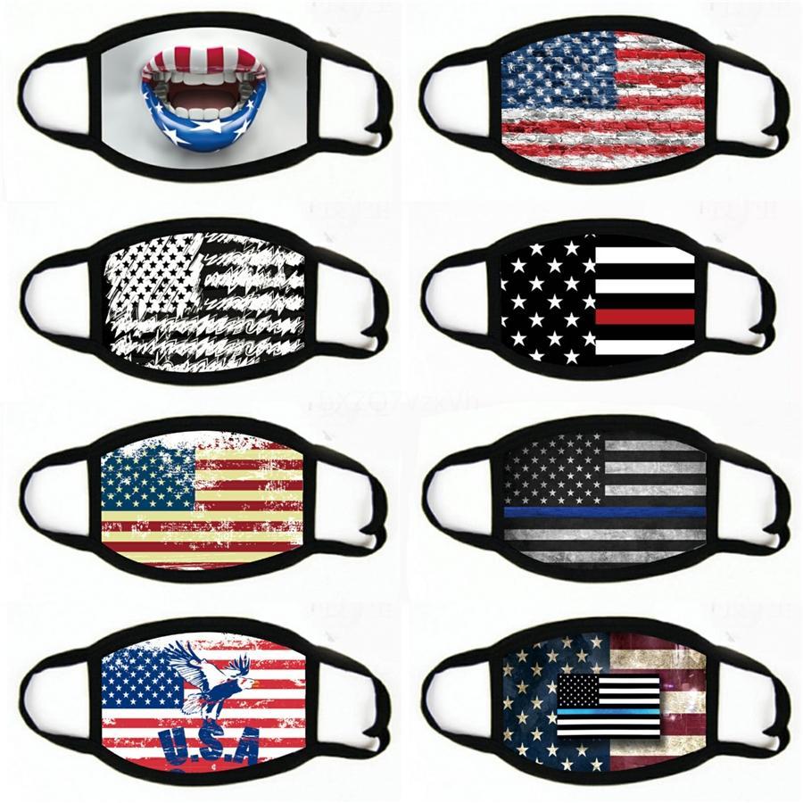 Amerikan Bayrağı Yüz Kalkanı İçin Unisex tozluk Şapkalar Sihirli Kafa İçin Motosiklet Bisiklet Balık # 505