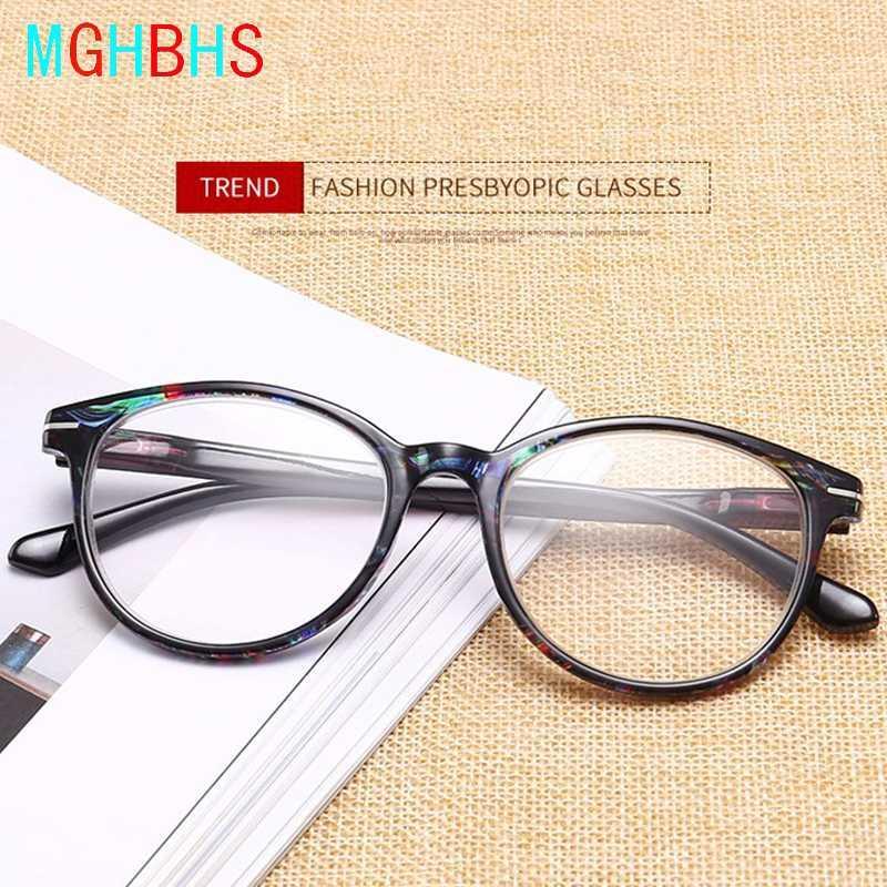 Les nouvelles lunettes de lecture dames de haute qualité tendance de la mode pour le motif de couleur âgées lunettes de lecture