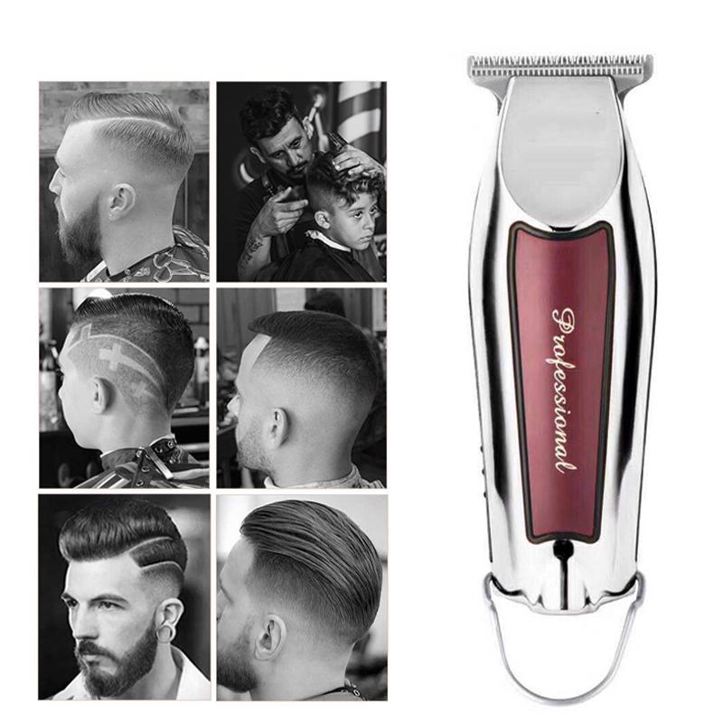 Electric Clipper для волос Парикмахерская для мужчин Стиль инструменты для волос Триммер для резки волос Профессиональный зарядный резак портативный беспроводной