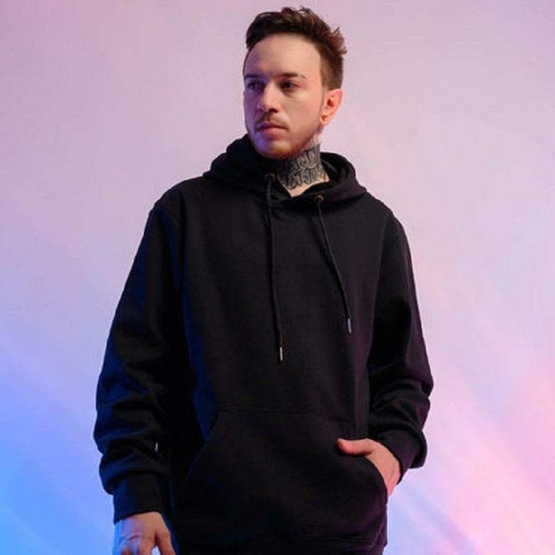 ZAZOMDE, inverno sólidos hoodies enormes de homens de cor, espessura do hoodie de veludo, de alta qualidade