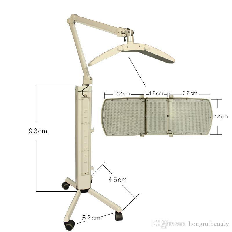 Мощная биологическая лампа PDT легкая терапия светодиодная машина для удаления морщин и прыщей 7 цветных фотонов светодиодный омоложение кожи PDT Beauty Machine
