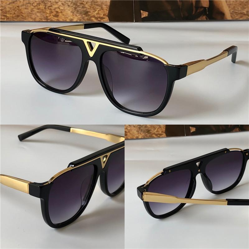 최근 판매 인기 패션 남성 디자인은 상자 0936과 0937 평방 플레이트 금속 조합 프레임 최고 품질 UV400 렌즈 선글라스