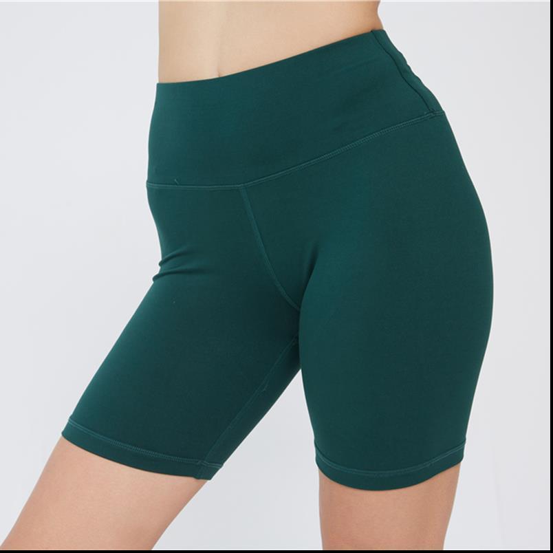 Fırçalı Skinny Kısa Tozluklar Kadınlar Katı Yumuşak Spor Legins Kadın Yaz Spor 2020 Yeni Dropship Running