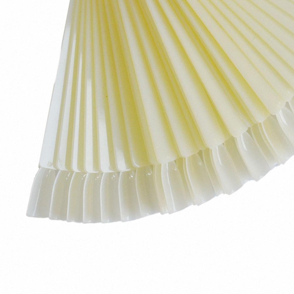 50PCS Transparente / Fan Junta Natural Pantalla Arte Falso puntas de las uñas Ronda del aro Práctica del palillo por esmalte en gel Mostrando Herramientas qQUo #