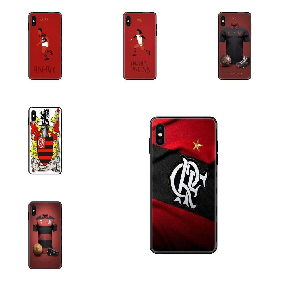 Telefone Luxo Especial Caso Clube de Regatas do Flamengo para o iPhone 11 12 Pro 5 5S SE 5C 6 6S 7 8 X XR XS Além disso Max