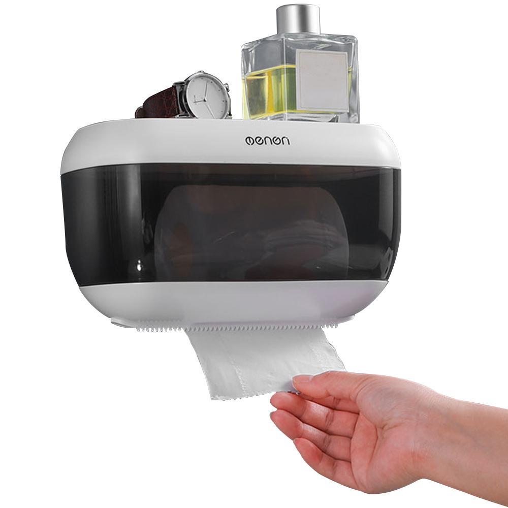 Menen papier serviette Boîte de rangement mural papier Porte-serviettes de bain papier hygiénique Boîte de cuisine distributeur de papier Extraction