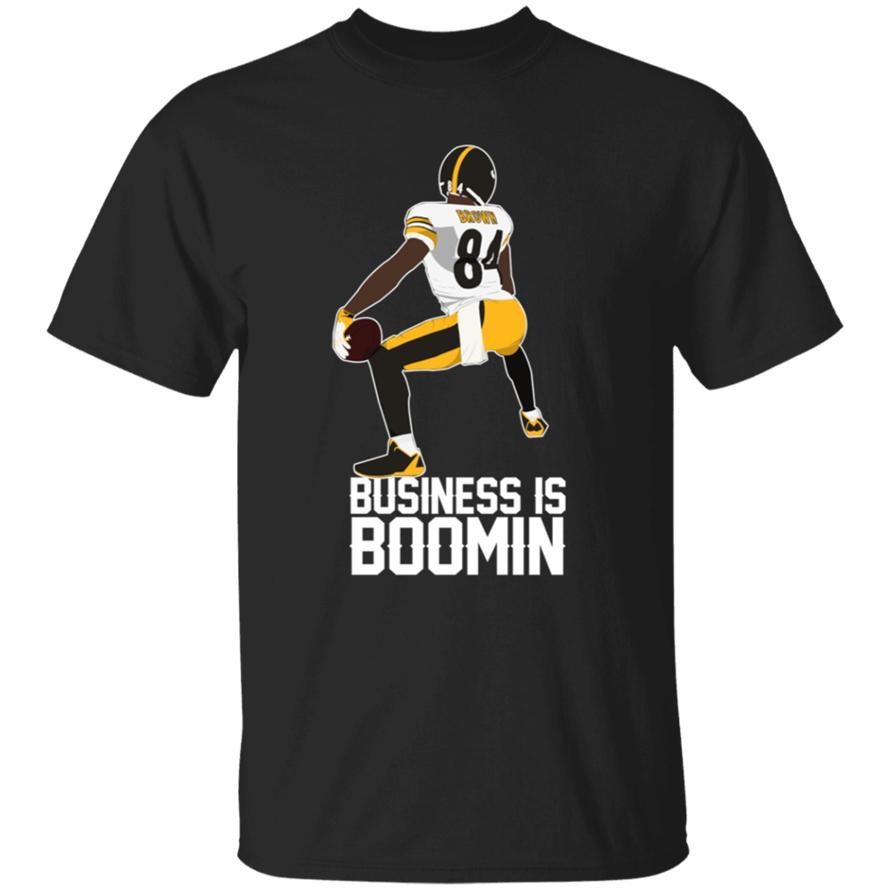 Los negocios son Boomin Tee Negro 2020 de la camiseta M-XXXL regalo camiseta divertida