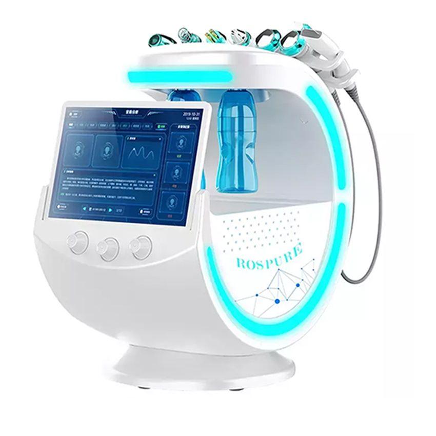 7 في 1 هيدرا الوجه آلة 2020 آلة محلل الجلد مكافحة الشيخوخة الأكسجين الصغيرة فقاعة علاج الجلد آلة RF الجلد Rejuvenaiton