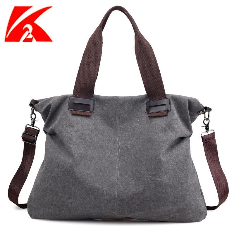 Spalla letteratura e l'arte di modo semplice in stile coreano borsa Schoolbag spalla della borsa di tela Donne Grande borsa