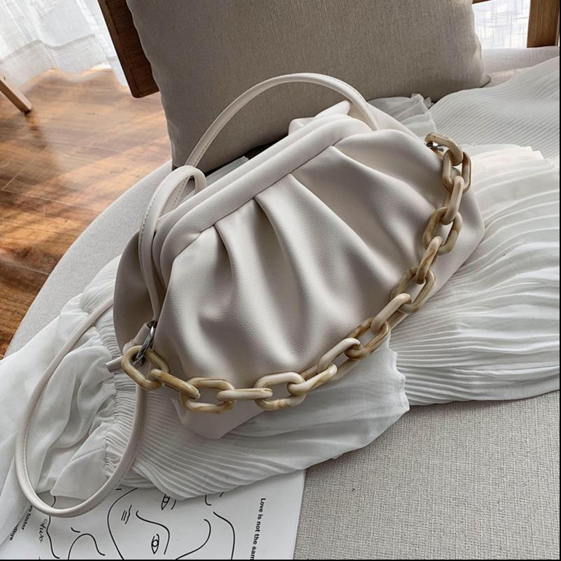 Candy Color PU Leather Shoulder Simple Bags For Women 2020 Small Crossbody Bag Travel Handbags and Purses
