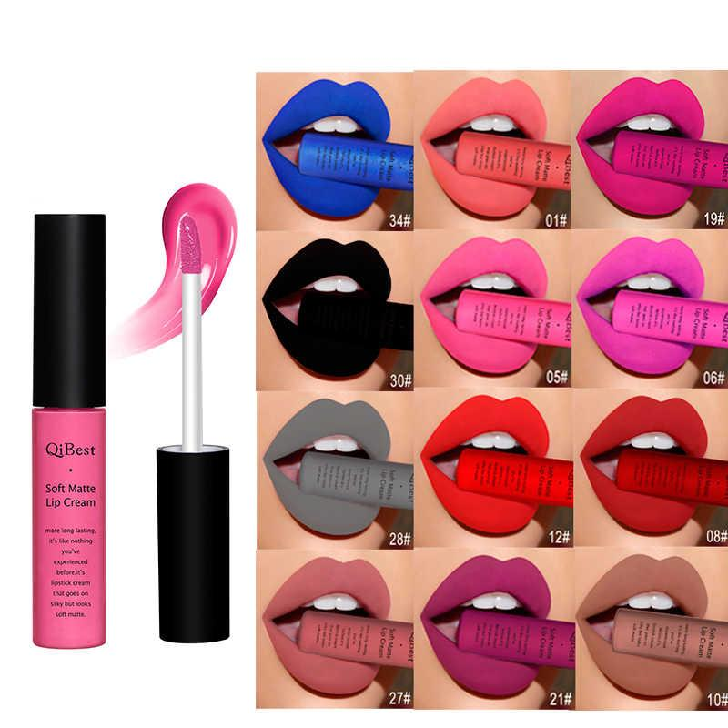 Professional Makeup Velvet Nude Lip gloss Waterproof