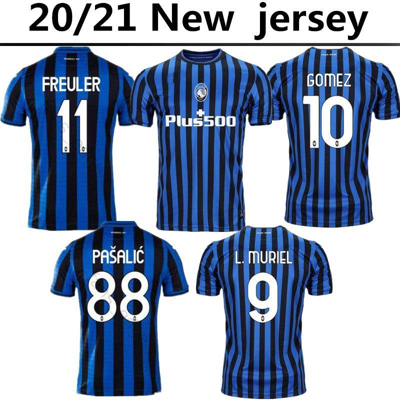 Acquista 2020 2021 Atalanta Soccer Jersey 20 21 Gomez L.Muriel Camicia Da Calcio Ilimica Nuova Casa Away Third Kit De Roon Duvan Uniforme Maglie A ...