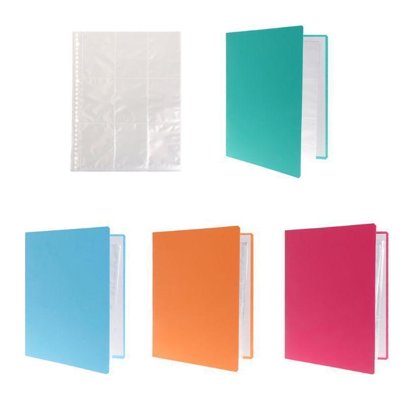 Съемный 9 -Pocket Blank Binder Silver Series Page протектор для стандартного размера Игровые карты Коллекция