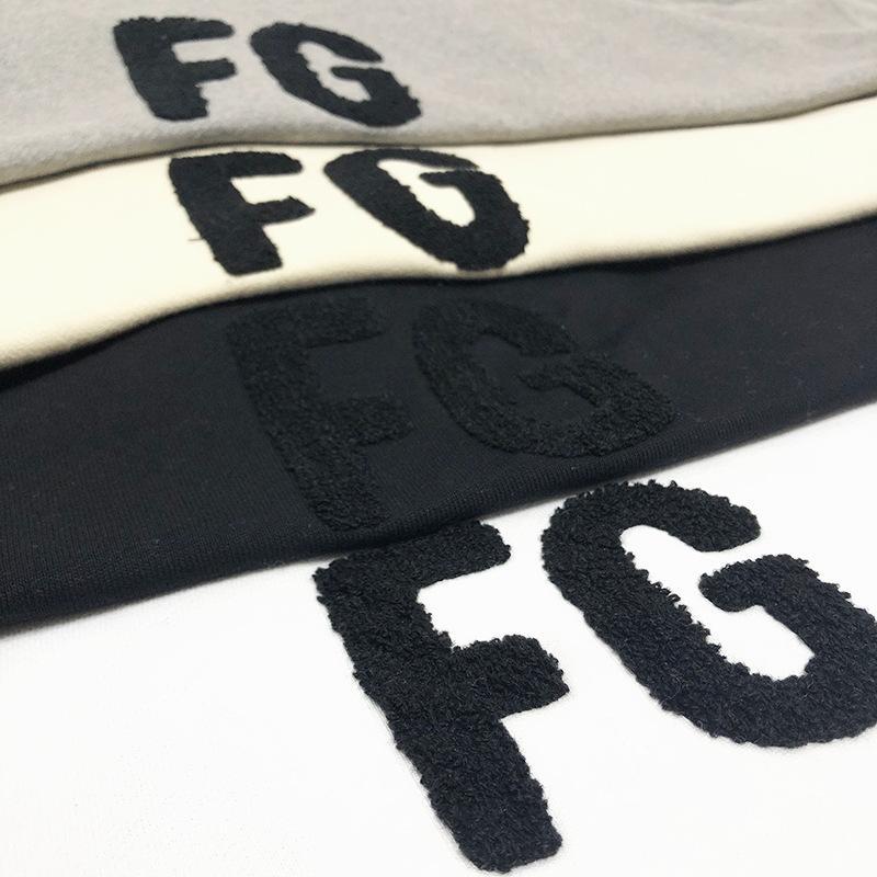 Свободная мода высокого сезона Бог 6 богатый свитер вышивка туман страха моды FG уличный расход писем хлопок капюшон Ntjso