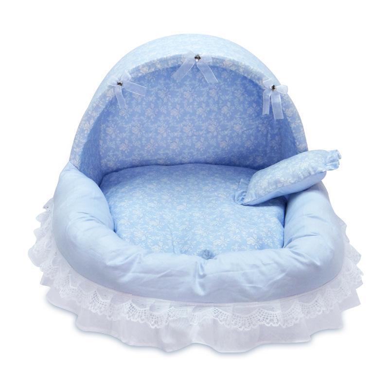 2020 سرير الكلب مريح لينة PP القطن جميل الحيوانات الأليفة الأميرة سرير دافئ قابل للغسل جرو القط لطيف البيت بيت الكلب كاماس الفقرة perro