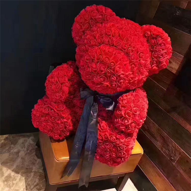 İyi Kalite Sevgililer Günü 520 Hediye Yeni Li Xiaolu Aynı Roseonly Ayı Gül Sabun Kalıcı Çiçek Çıkışı