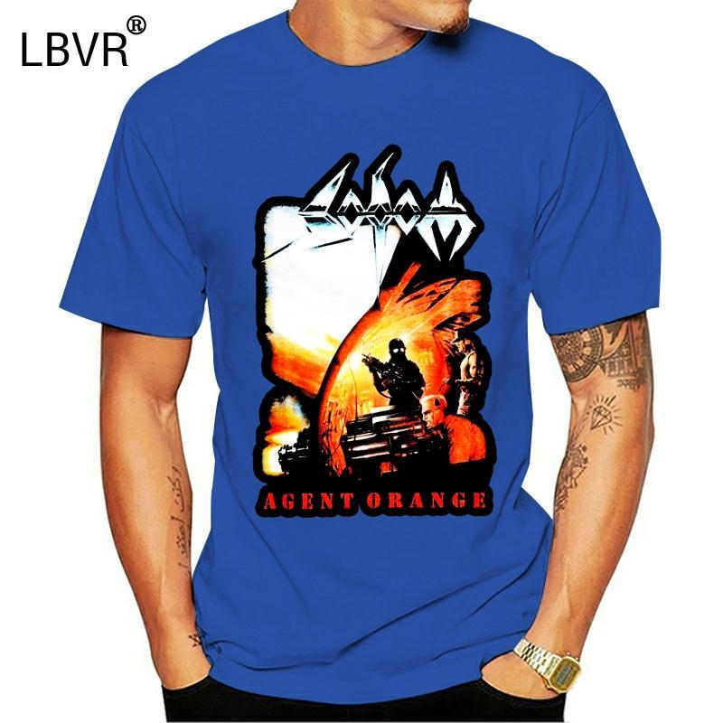 Sodome T-shirts Personnalité Noir Hommes Casual Agent orange T-shirt de mode d'été Paried T-shirts Top Tee Middle Aged