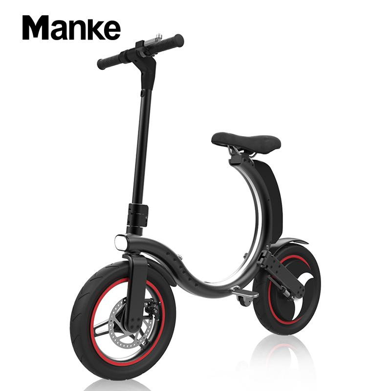 Folding Electric Bicycle Bike with Seat for Adult Scooter