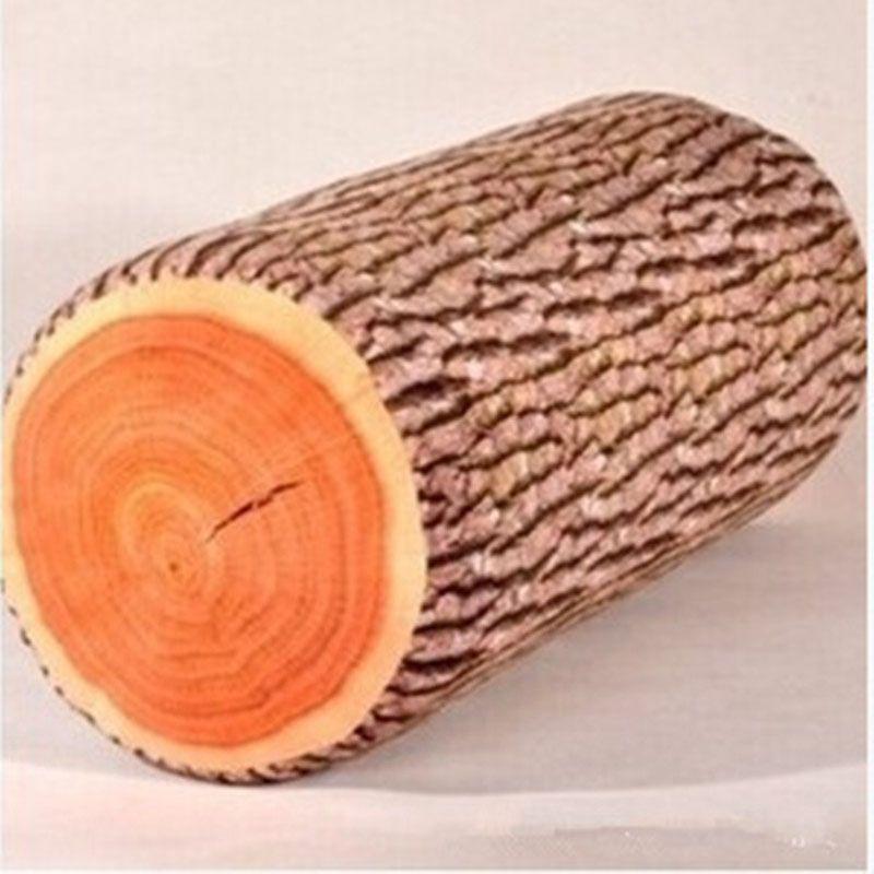 Lange Holz Plüsch Kissen für Schlafen Gepolsterte Stuffed Sitzkissen Kinderbett Stuhl Körperkissen