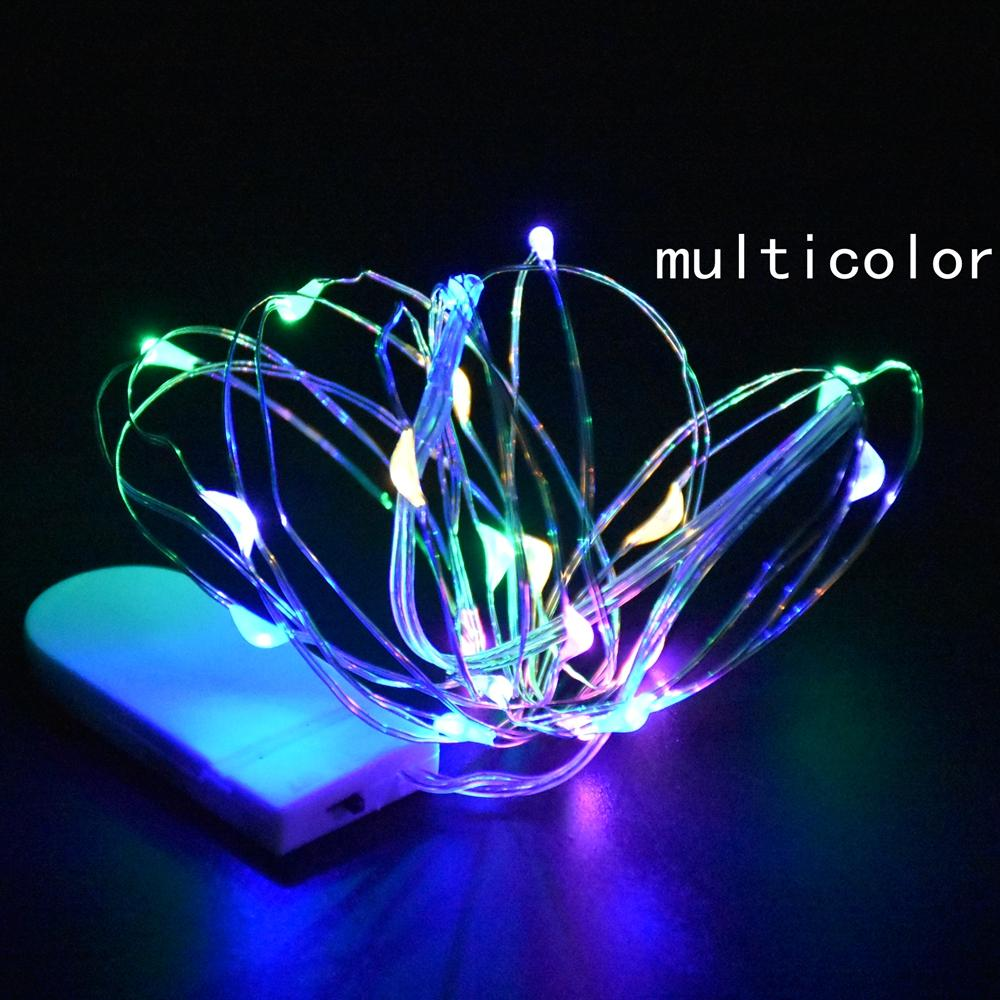5M Fairy String Lights 50 Micro Starry Leds On Silvery Copper Wire for Wedding Centerpiece Party Christmas Table Decor 20pcs/lot