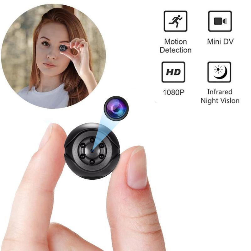 SQ6 Mini Camera 1080P Sensor Portátil Security Camcorder Pequeno Cam Noite Vision Movimento Detecção Suporte Escondido TF Card PK SQ 9