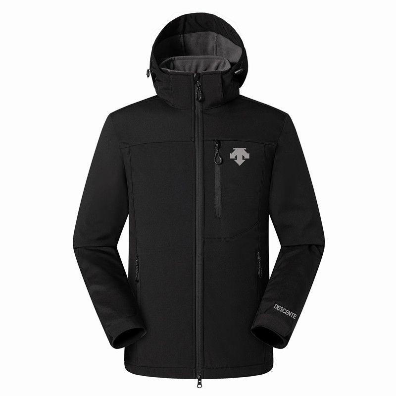 2019 Nuovo Il Mens DESCENTE Giacche Felpe Moda caldo casuale antivento sci Viso Cappotti All'aperto Denali Fleece Jackets 09