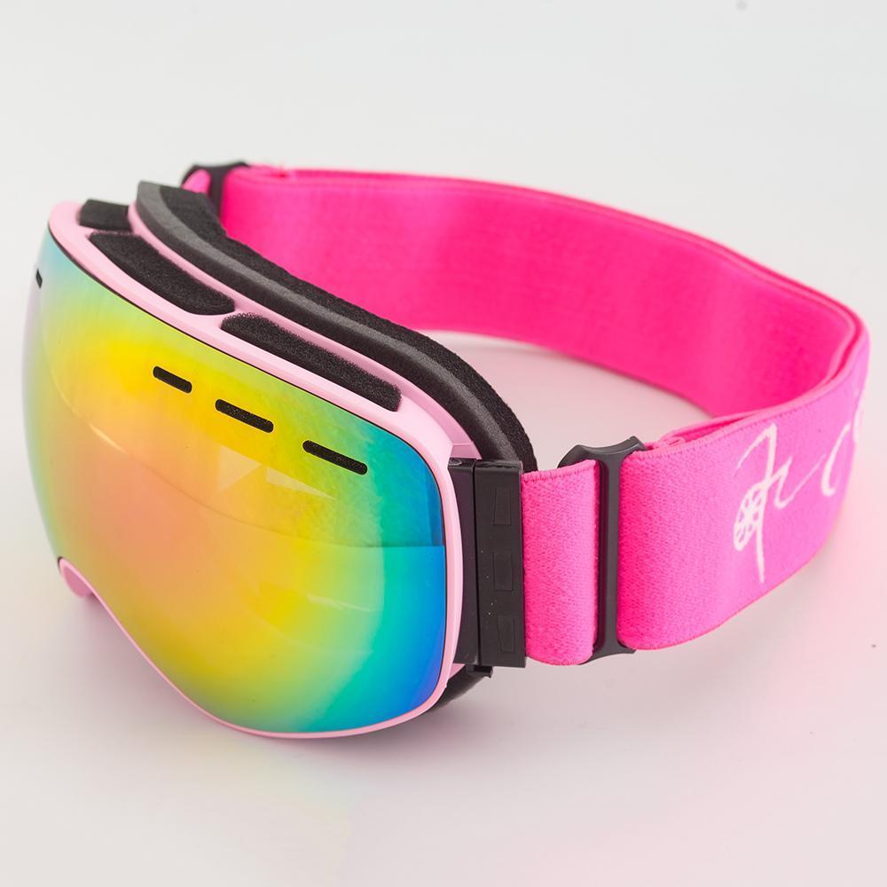 Kids Ski Goggles Double Lens Anti-Fog Snowboard Eyewear Winter Glass gafas de esqui skibril Children Snow Ski Goggles Boys Girls