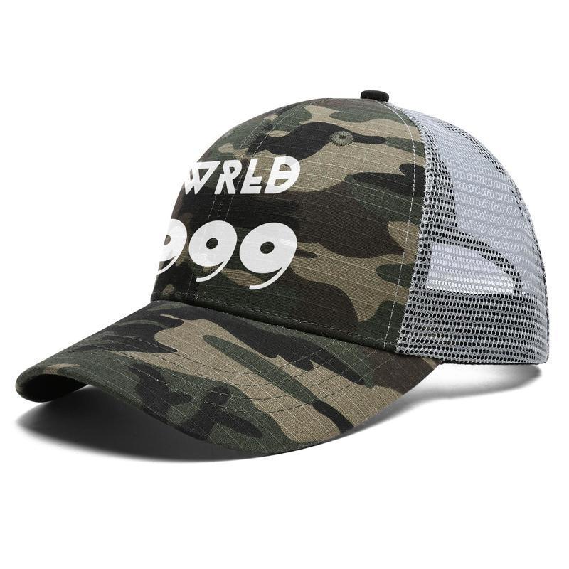 Mens Women Juice Wrld 9 Adjustable Trucker Cap Cricket Custom Best Vintage Baseball Hat eyes juice wrld all girls are the same JUICE on