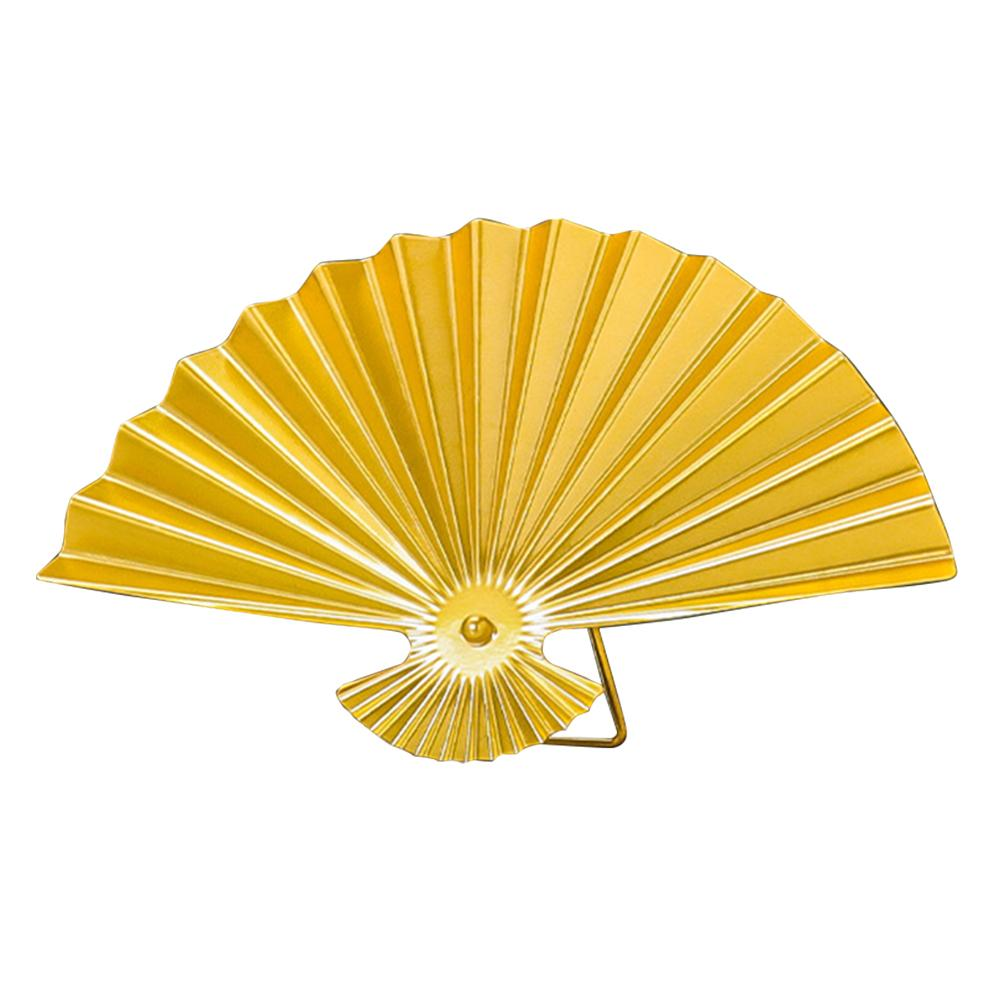 Ferforje Masaüstü Süsleme Salon Otel Ev Dekorasyonu Geometrik Şekilli Altın